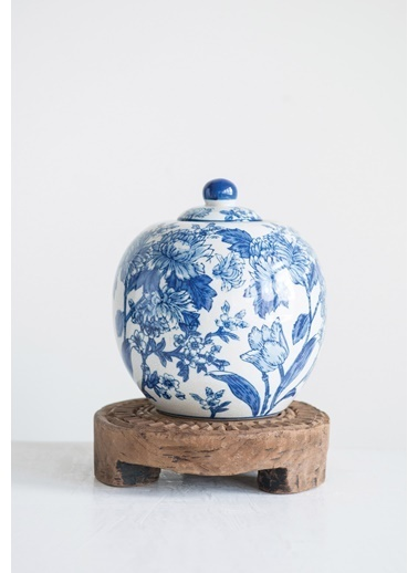 Warm Design Dekoratif Porselen Kavanoz Renkli